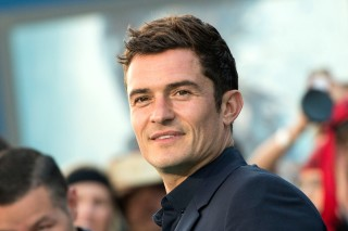 Actor Orlando Bloom attends the premiere of Disney's and Jerry Bruckheimer Films