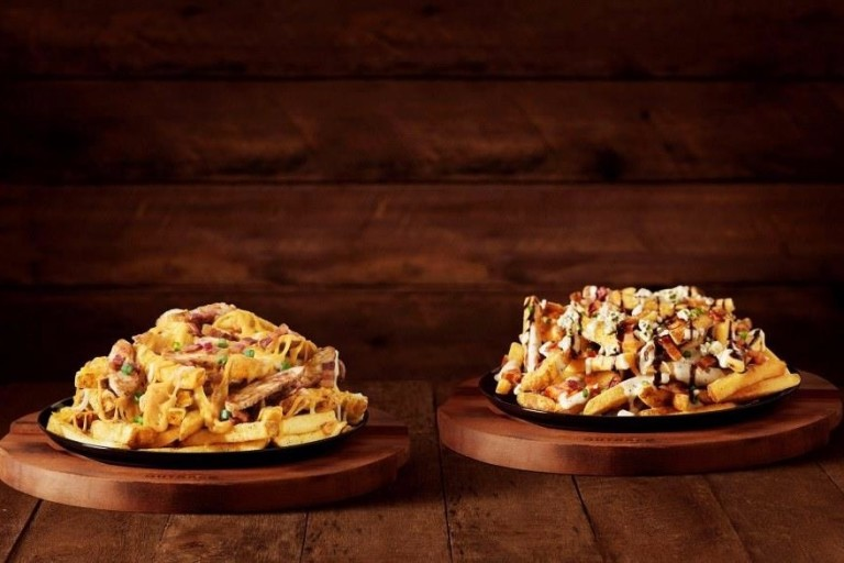 Novas fritas do Outback