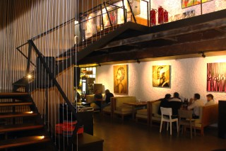 Ambiente do B.A.R. - Bar, Arte e Restaurante, no Itaim *** ****