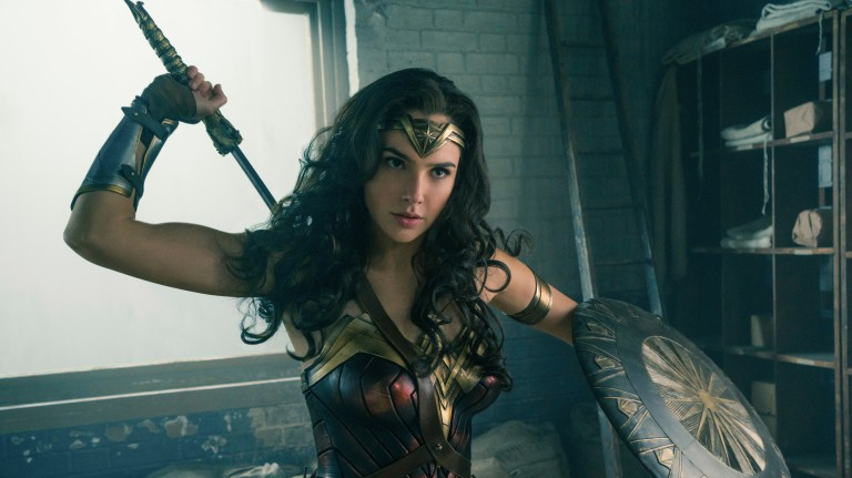 "This image released by Warner Bros. Entertainment shows Gal Gadot in a scene from ""Wonder Woman."" (Clay Enos/Warner Bros. Entertainment via AP) ORG XMIT: NYET511"
