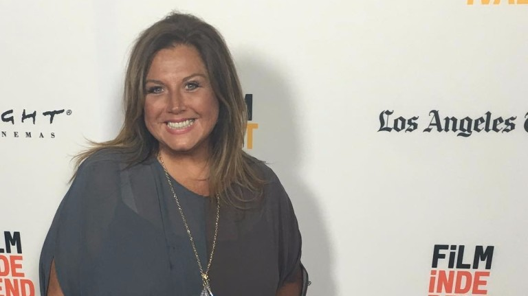 "A apresentadora Abby Lee Miller, do programa ""Dance Moms"""