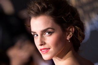 (FILES) This file photo taken on March 03, 2017 shows British actress Emma Watson attending the world premiere of Disney's Beauty and the Beast at El Capitan Theatre in Hollywood, California.