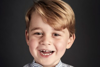 Prince George is seen in an undated photo released by Britain's Prince William, the Duke and Catherine the Duchess of Cambridge ahead of his his fourth birthday on July 22, 2017. The picture was taken at Kensington palace, at the end of June 2017. REUTERS/Chris Jackson/Pool NEWS EDITORIAL USE ONLY. NO COMMERCIAL USE (including any use in merchandising, advertising or any other non-editorial use including, for example, calendars, books and supplements). This photograph is provided to you strictly on condition that you will make no charge for the supply, release or publication of it and that these conditions and restrictions will apply (and that you will pass these on) to any organisation to whom you supply it. All other requests for use should be directed to the Press Office at Kensington Palace in writing. ORG XMIT: LON200