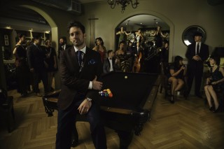 Scott Bradlee, fundador da banda Postmodern Jukebox *** ****