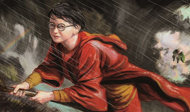 "Arte do livro ""Harry Potter e a Câmara Secreta"""
