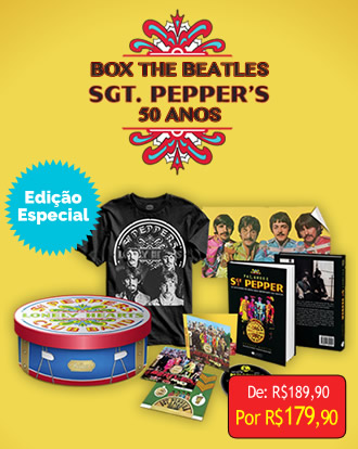 Box The Beatles Sgt. Peppers 50