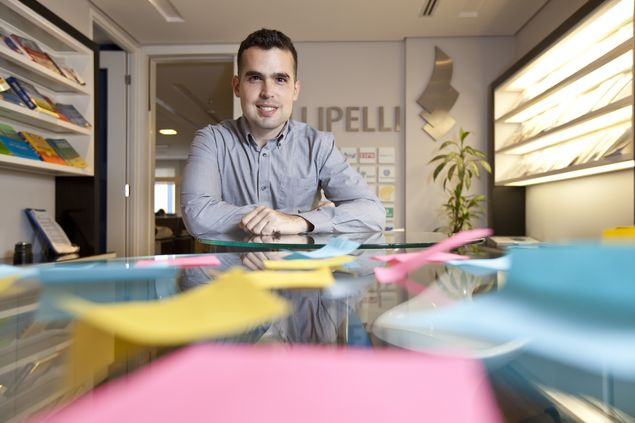 Ramon Olsen, coordenador de marketing da consultoria Fellipelli
