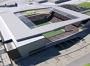 Projeto de construção do estádio do Corinthians