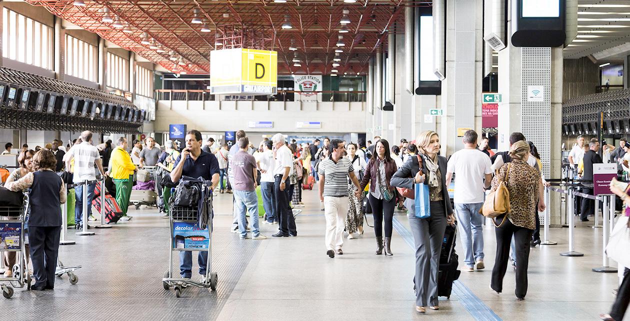 Serviços aéreos são mais utilizados e bem avaliados por passageiros