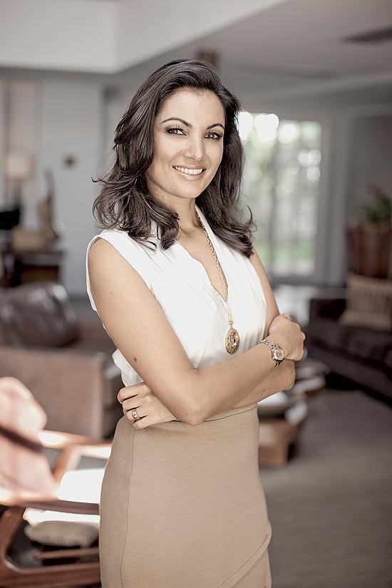 A jornalista Patrícia Poeta