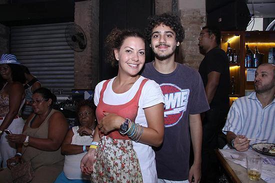 Fabíula Nascimento e o agora ex-namorado, Geroge Sauma, dez anos mais novo do que ela