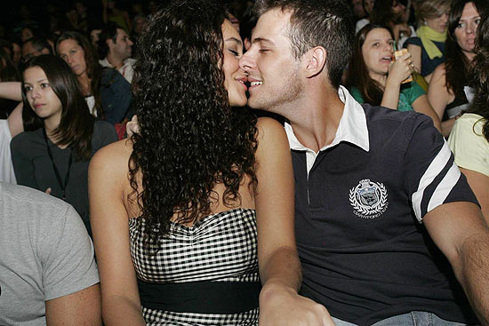 """A atriz Débora Nascimento e o empresário Arthur Rangel, com quem rompeu na reta final """" Avenida Brasil"""""""