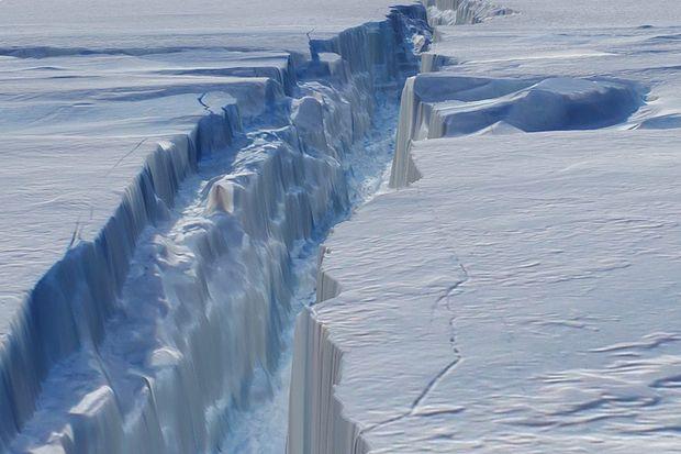 Iceberg tabular da ilha Pine