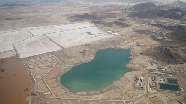Mina localizada a menos de 5 km do centro de Oruro continua a poluir, embora não esteja mais ativa