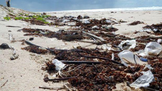 No ranking dos países mais poluidores dos mares, o Brasil ocupa a 16ª posição