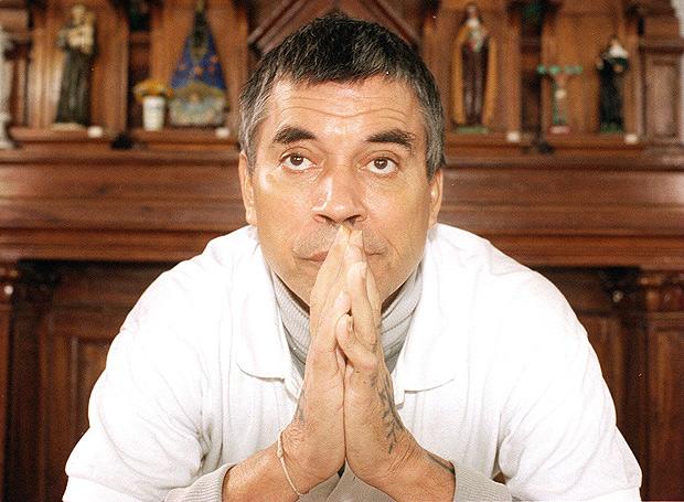 João Acácio Pereira da Costa, o Bandido da Luz Vermelha em 1995, três anos antes de ser solto