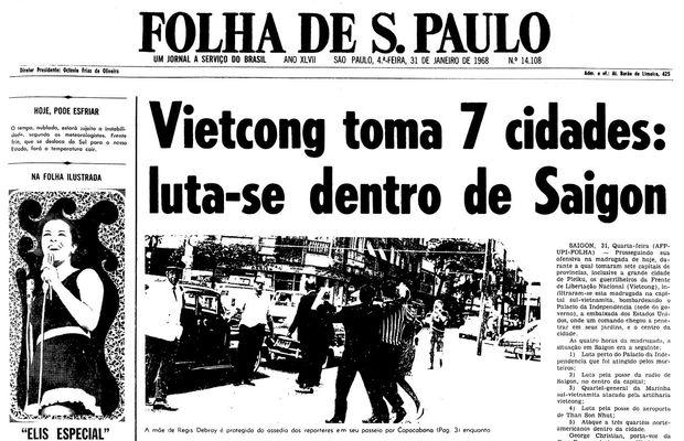 Ataque vietcong surpreende EUA e toma 7 cidades no Vietnã do Sul ... 2eac8228586