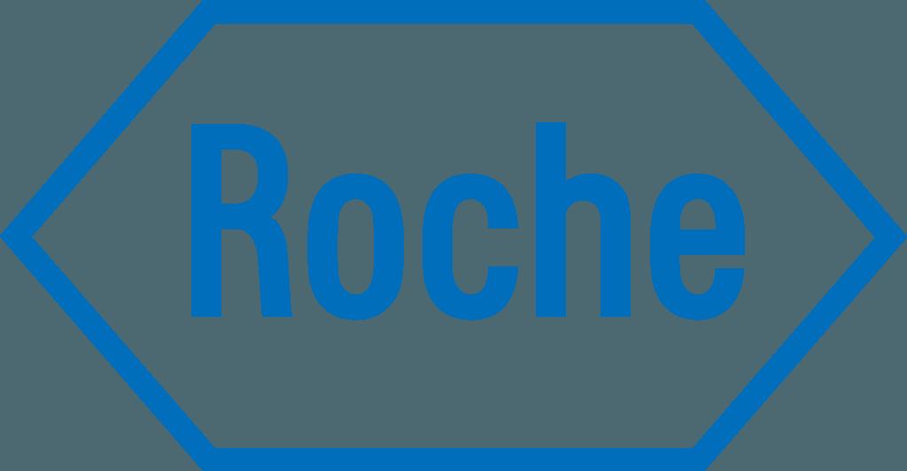 Logo do patrocínio Roche