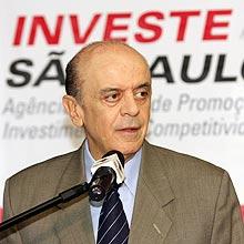 Governador José Serra anuncia medidas anticrise em São Paulo