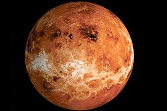 Novo mapa de Vênus sugere que planeta teve continentes e oceano, segundo informou a Agência Espacial Europeia nesta terça