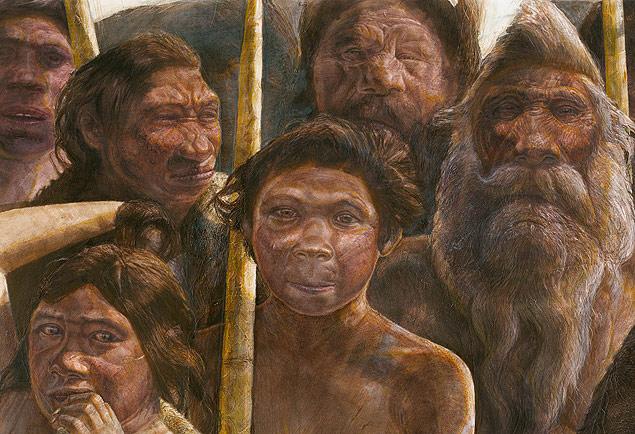 Concepção aryístoca mostra os hominídeos de Sima de los Huesos