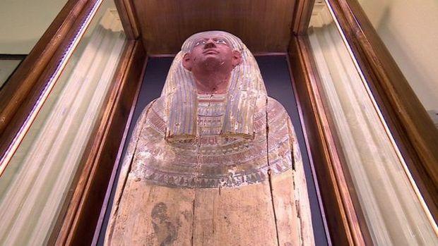 Múmia misteriosa do castelo de Chiddingstone