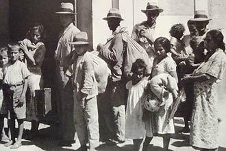 Famílias estrangeiras chegam a São Paulo no começo do século 20 e são encaminhadas para trabalhar no campo no interior do Estado