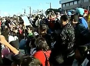 Protesto fecha estrada M'Boi Mirim