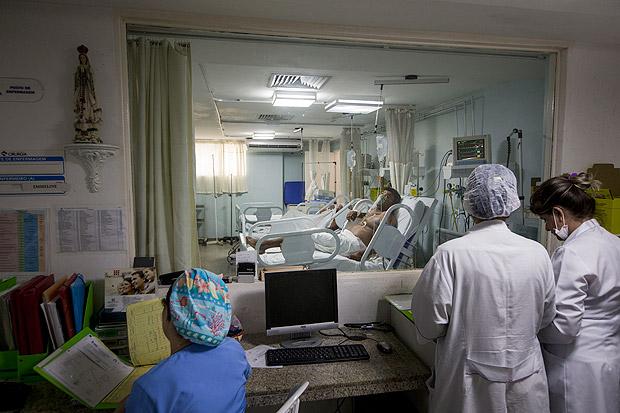 Pesquisa também descobriu que 70% dos pacientes têm desnutrição moderada ou grave