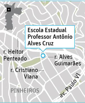 Onde fica EnemEscola Estadual Professor Antônio Alves Cruz - Pinheiros