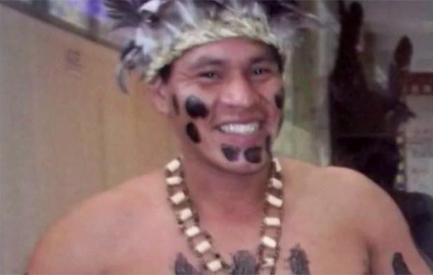 Índio Marcondes Namblá, morto a pauladas em SC