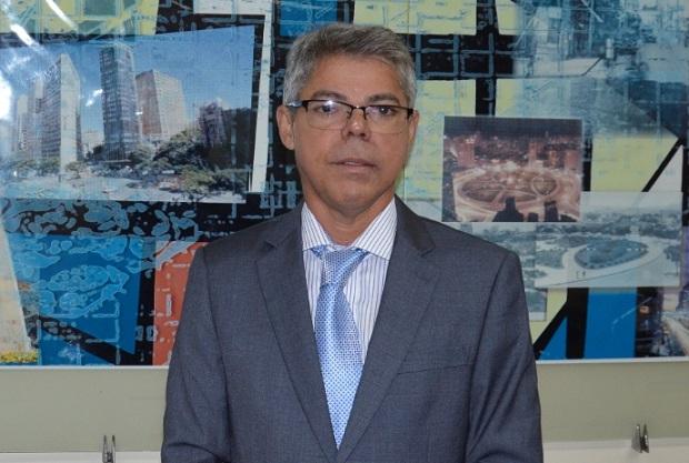 O novo diretor do Detran MG, César Augusto Monteiro Alves Júnior