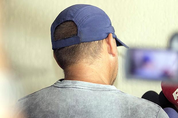 O policial Ariovaldo Grubl negou que estivesse em racha