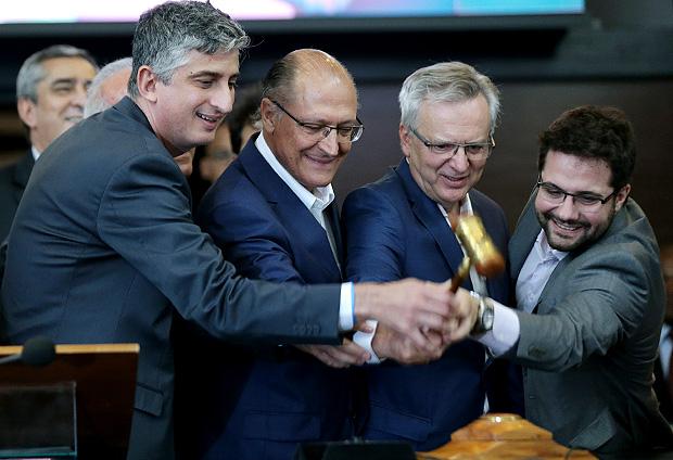 Geraldo Alckmin (PSDB) bate o martelo no pregão que escolheu a CCR para gerir duas linhas do metrô