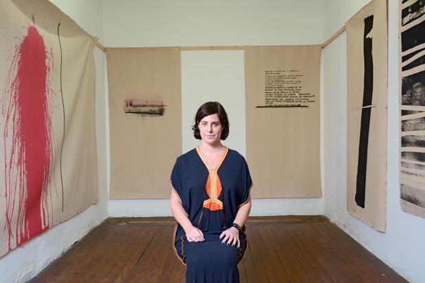 Maria Montero, 43, dona da Galeria Sé.