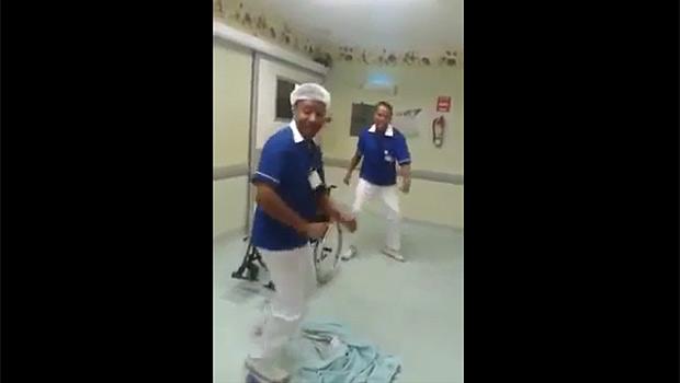 """Funcionários de hospital da Bahia dançam """"Que Tiro foi esse?"""" e são demitidos"""