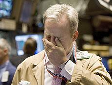 Bolsas em NY despencaram após a rejeição por deputados de pacote de ajuda
