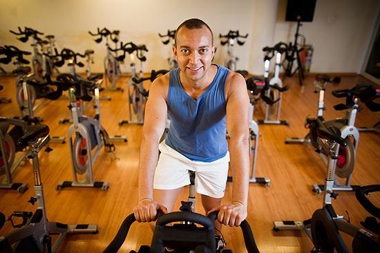Volnei Costa, 31, perdeu 8kg só fazendo exercícios físicos
