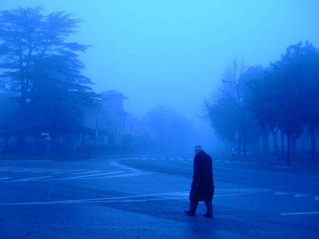 névoa escuridão solidão depressão sozinho
