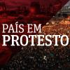 País em protesto