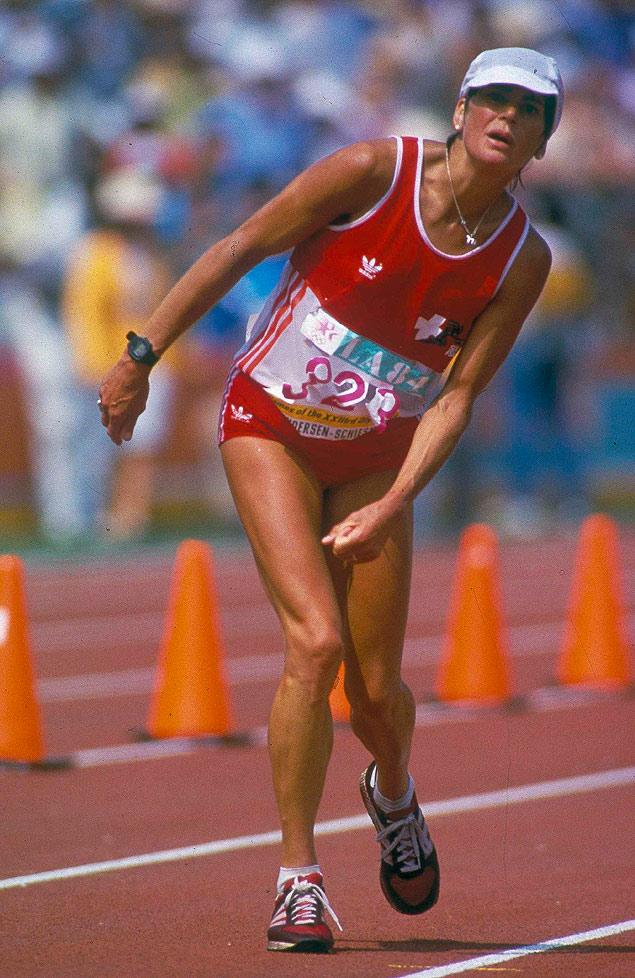 Resultado de imagem para corredora suiça maratona