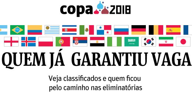 Chamada classificados Copa 2018
