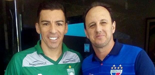 Rogério Ceni e Lúcio se reencontraram neste sábado em jogo amistoso