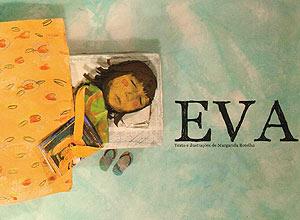 """Capa do livro """"Eva"""", de Margarida Botelho"""