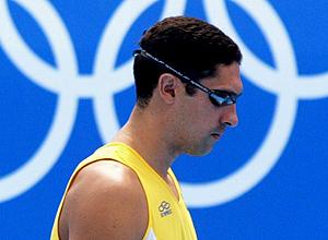 Medalhista brasileiro, o ex-nadador Gustavo Borges apoia concurso literário infantil