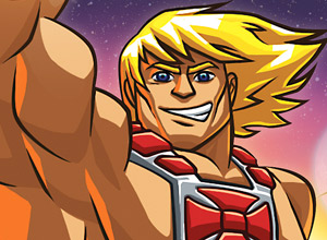 """""""He-Man: The most powerful game in the universe"""""""