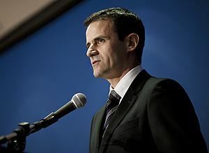 Delegado Roberto Troncon Filho durante a sua posse no cargo de Superintendente Regional da Polícia Federal em São Paulo, em maio