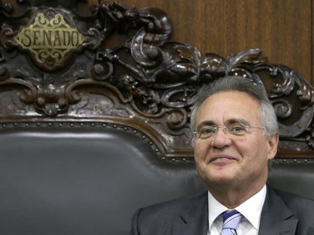 O ex-presidente do Senado, Renan Calheiros (PMDB-AL)
