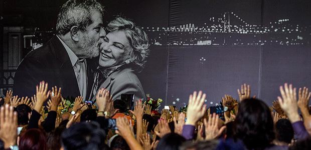 Velorio de dona Marisa Leticia, esposa do Presidente Lula, no sindicato dos Metalurgicos do ABC