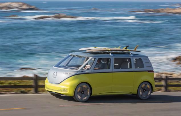 Projeto da Kombi autônoma da Volkswagen